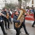 Banda de música en la Falla Ribera-Convento Santa Clara