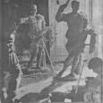 Levante 17-02-1963: imperio romano en taller fallero