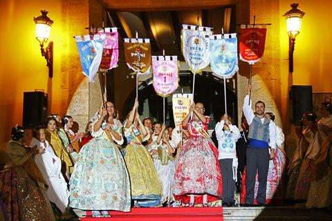 Entrega de premios de las Fallas de Paterna 2013