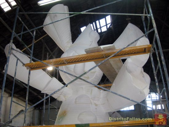 Taller del artista fallero Juane Cortell (2012)