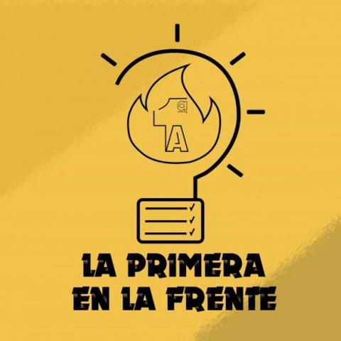 Logo de 'La primera en la frente'