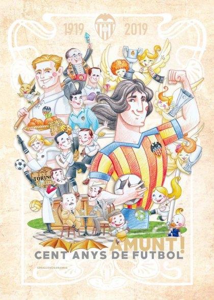 Boceto de la falla infantil de Reina-Paz-San Vicente de 2019