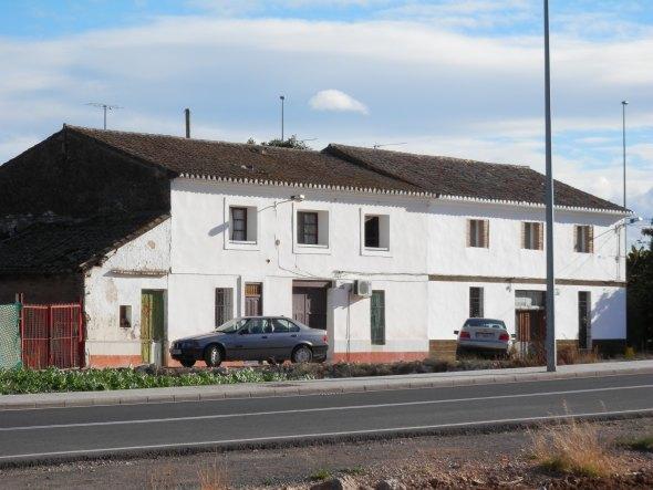 Casas en el barrio de San Isidro.