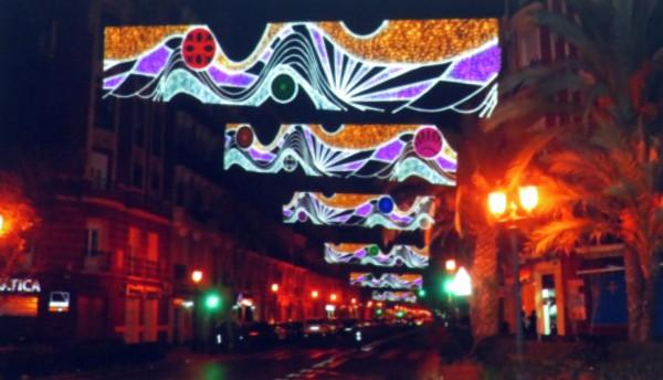 Presentación del proyecto de iluminación de Cadiz-Los Centelles 2019