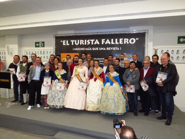 """Presentación de """"El Turista Fallero"""" de 2019"""