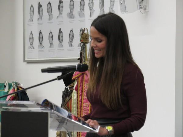 Ana Cuesta, en la presentación de El Turista Fallero 2019