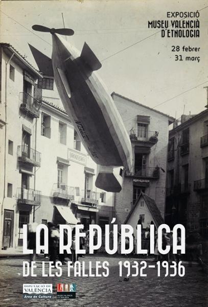 """Cartel de la exposición """"La República de les Falles"""""""