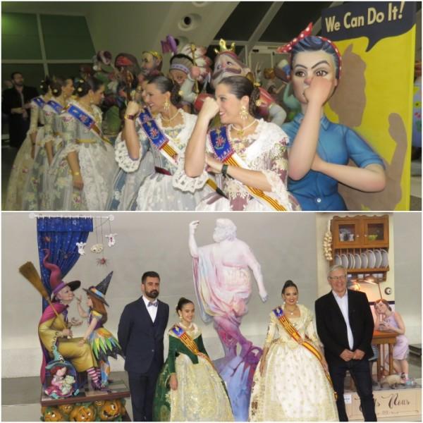 Inauguración de la Exposición del Ninot 2019