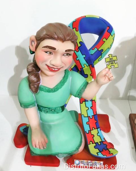 Ninot infanti de la Exposición del Ninot, Quint-Pizarro 2019