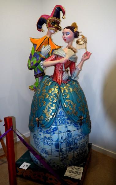 Figura de la Exposición del Ninot, Falla Barri Sant Francesc (Manises)