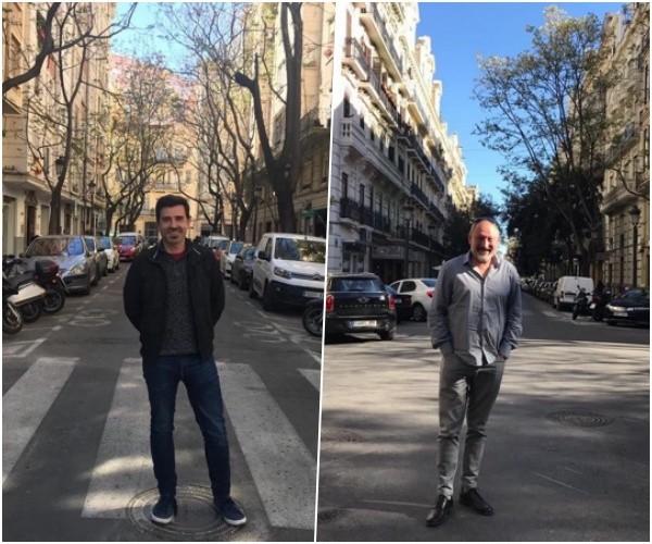 Sergio Amar y Manuel Algarra, artistas falleros de Maestro Gozalbo-Conde de Altea para 2020