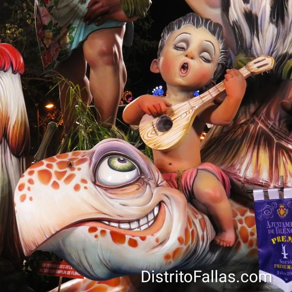 Falla La Nova d'Orriols 2019 (detalle)