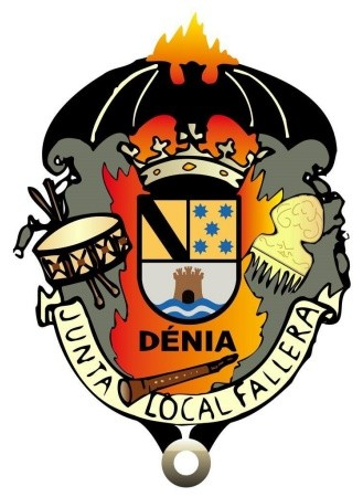 Escudo de la Junta Local Fallera de Dénia
