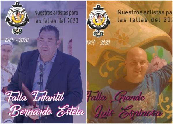 Artistas falleros de Barraca-Espadán 2020