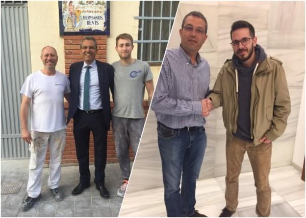 Artistas de la falla Conde de Salvatierra-Cirilo Amorós para 2020