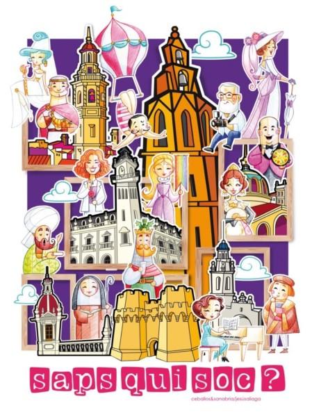 Boceto de la falla municipal infantil de Valencia 2020
