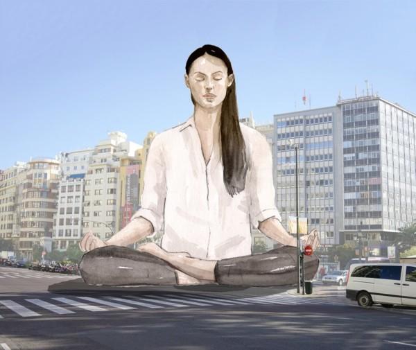 Boceto de la falla municipal grande de Valencia 2020