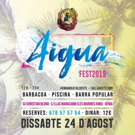 Aiguafest 2019 (Falla Oeste, Dénia)