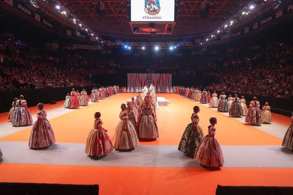 Elección de candidatas a falleras mayores de València 2020 (foto: JCF)
