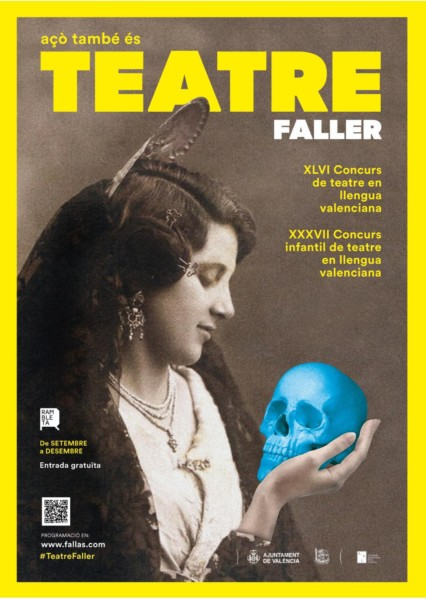 Cartell Teatre Faller JCF 2019-2020