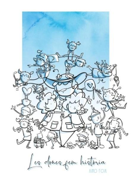 Boceto de la falla infantil de Luis Lamarca-Velázquez 2020