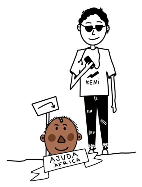 Boceto de la Falla Borrull Socors grande 2020