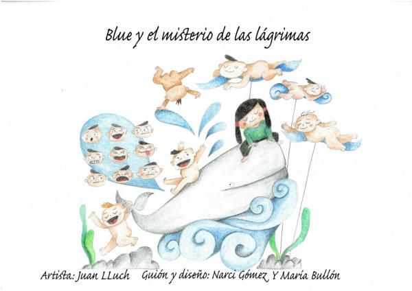 Boceto de la falla infantil de Rubén Darío-Fray Luis Colomer 2020
