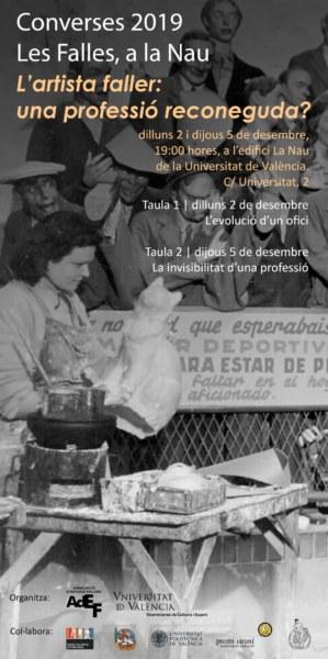 Cartel de 'Les Falles a la Nau' de 2019
