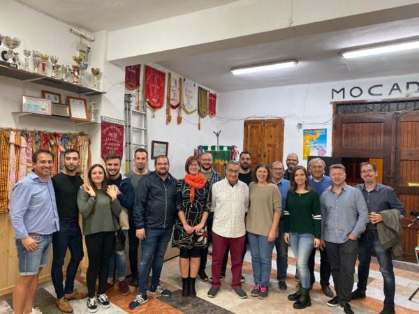 Reunión de les Falles I+E con la concejala de Cultura y Fiestas de Sagunt