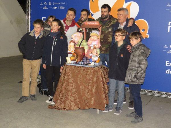 Recepción de Exposición del Ninot 2020