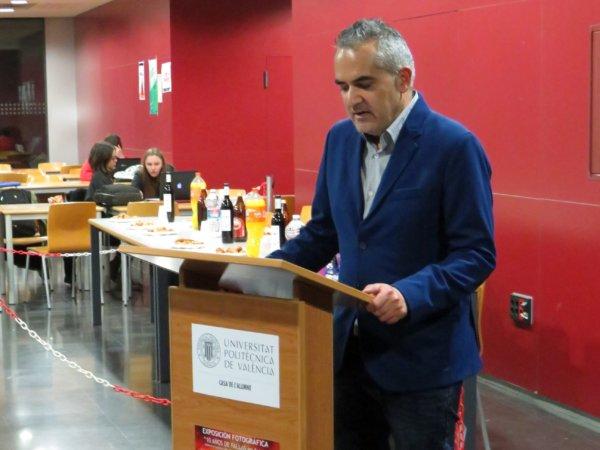Roberto Gómez Baldaquino, responsable de 'Hablemos de Fallas'