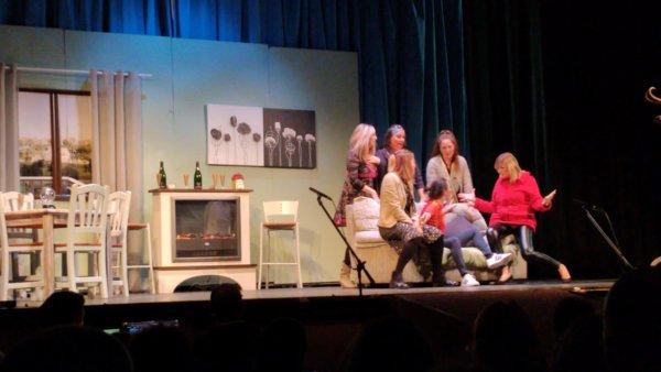 Actuación de teatro de la Falla El Palleter (Sagunt)