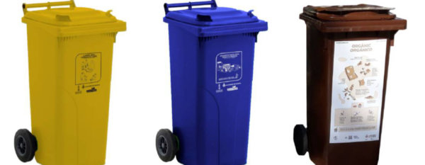 Cubos de reciclaje para casales falleros