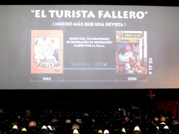 """Presentación de """"El Turista Fallero"""" 2020"""