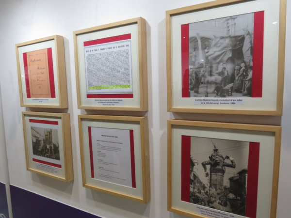 "Inauguración de la exposición ""Les Falles i la Setmana Santa Marinera"""
