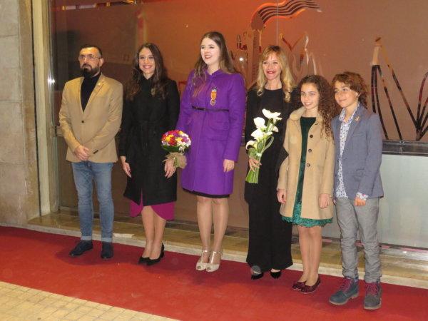 Entrega del Premi de Les Arts a María Esteve