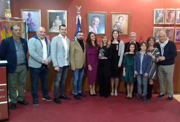 Entrega del Premi de Les Arts a María Esteve (foto: Roberto Gómez / Hablemosdefallas.es)