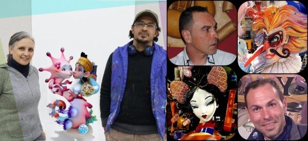 Artistas de la Falla Obispo Amigó-Cuenca 2021