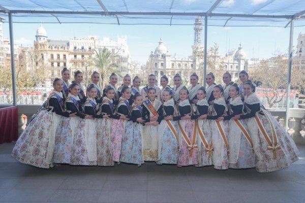 Falleras mayores de València 2020/2021 y cortes de honor