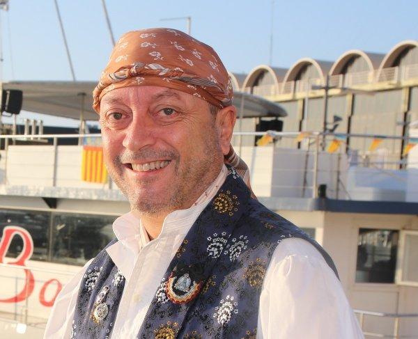 Pepe Pastor, presidente de la Agrupación de Fallas del Marítimo