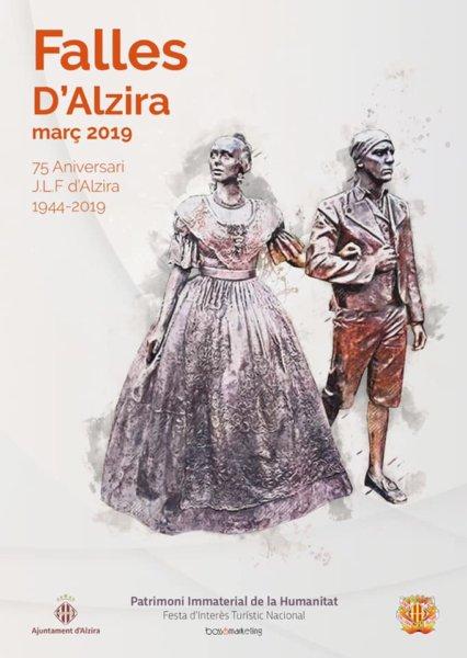 Cartel Falles d'Alzira 2019