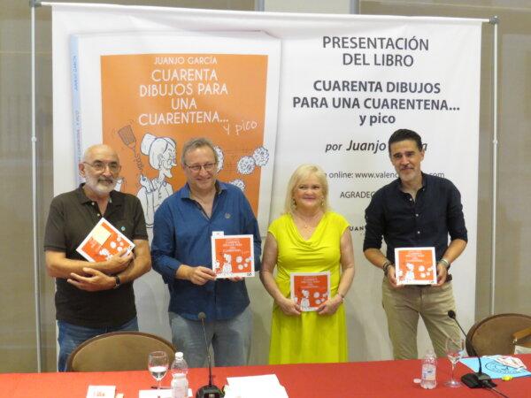 """Presentación del libro """"Cuarenta dibujos para una cuarentena... y pico"""""""