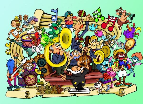 Boceto de la falla infantil de Els Generals para 2022