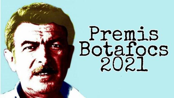 Cartel de los Premis Botafocs 2021