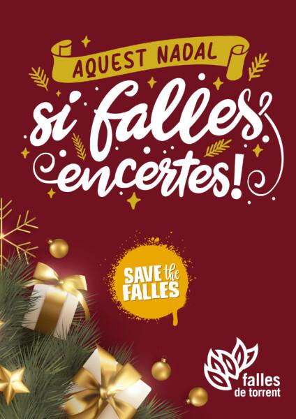 "Poster ""Save the Falles"" (Falles de Torrent)"
