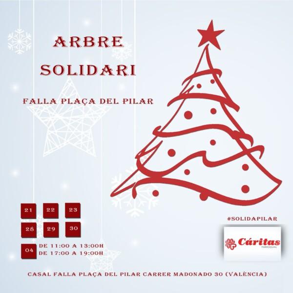 Arbre Solidari de la Falla Plaza del Pilar