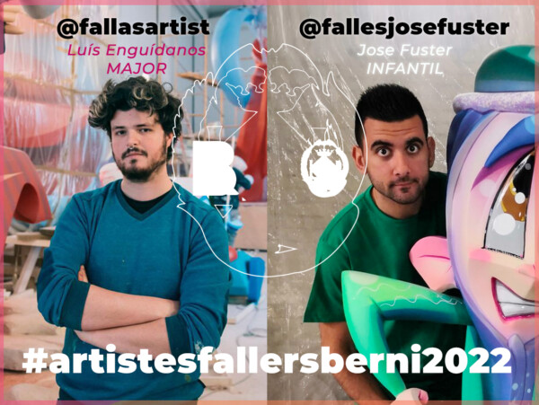 Artistas falleros de La Berni para 2022
