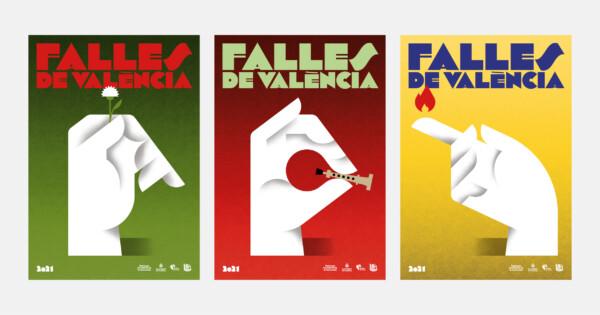 Carteles oficiales de las Fallas de València 2021 (2)