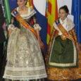 Consuelo Llobell y Carla García, falleras mayores de València 2020, en la inauguración de la Exposición del Ninot