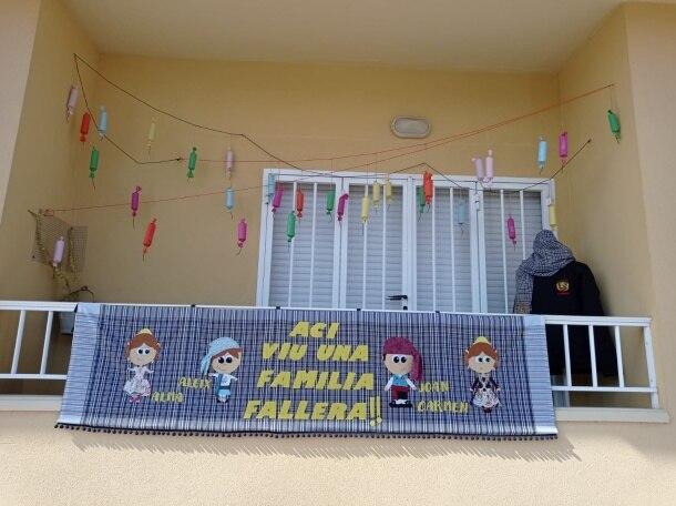 Ganador del I Concurso de Engalanamiento en Casa (JLF Dénia)